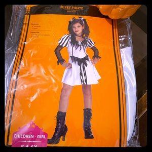 Punk Pirate Child's Costume